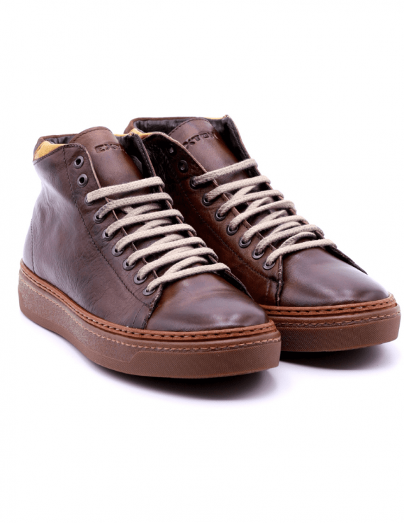 sneakers mid EXTON 758 T.MORO
