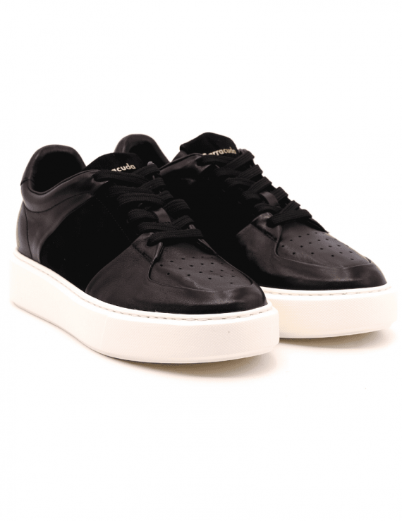 sneakers uomo BARRACUDA 3371 NERO