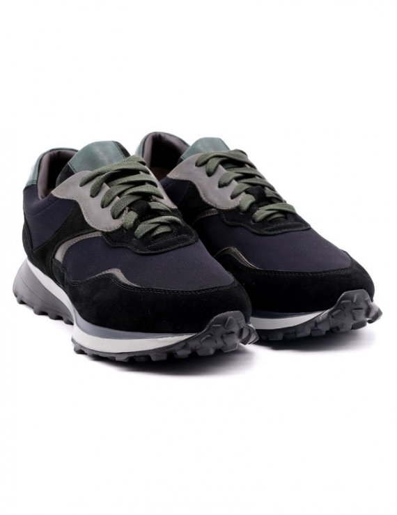 sneakers uomo CALPIERRE TASSO NERO