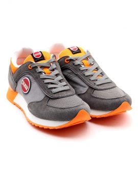 SNEAKERS UOMO COLMAR A-TRAVIS COLORS 018 GRAY/ORANGE