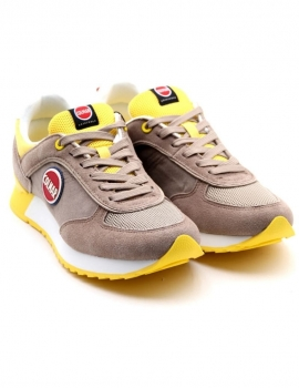 SNEAKERS UOMO COLMAR A-TRAVIS COLOR 006 WARM/GRAY/YELLOW