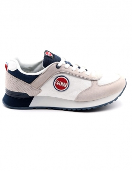 SNEAKERS UOMO COLMAR M-TRAVIS COLORS 007 WHITE/NAVY
