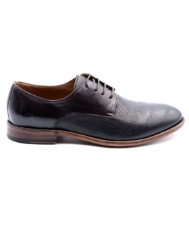 STRINGATA UOMO K035 IN PELLE ANILCOL COLOR CIOCCOLAT