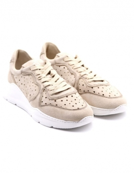 SNEAKERS UOMO BARRACUDA BU3302 BEIGE