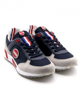 SNEAKERS UOMO COLMAR A-TRAVIS ORIGINALS 002 NAVY