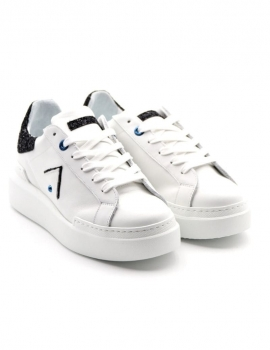 SNEAKERS DONNA ED PARRISH CKLD-SQ40 BIANCO/NERO