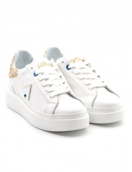SNEAKERS DONNA ED PARRISH CKLD-SQ46 BIANCO/PLATINO