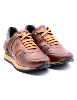 SNEAKERS EXTON 591 CUOIO